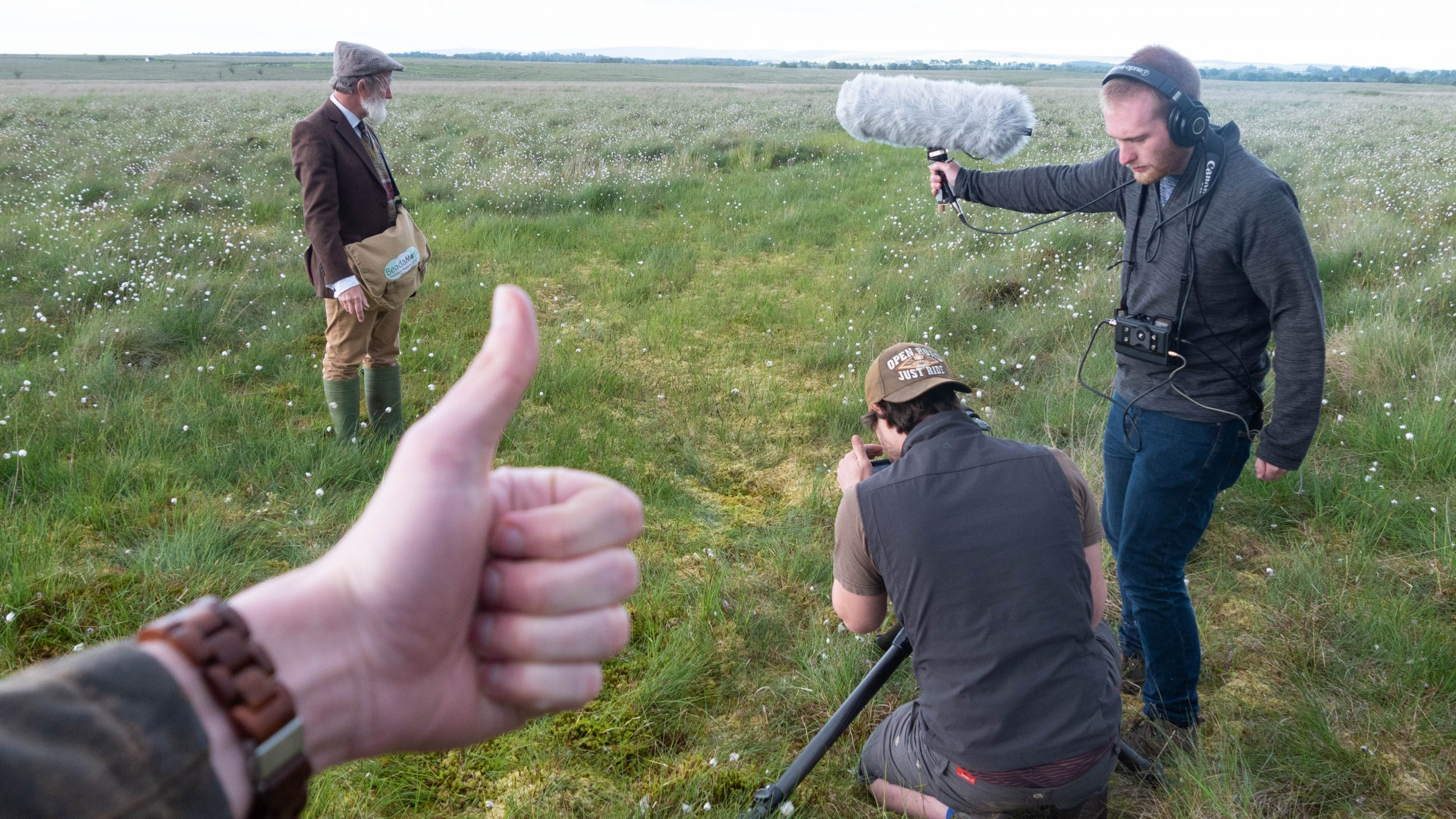 Filming in Fields - Behind the Scenes of Carbon Farmer with Andy Clark, Peter Baumann, Benjamin Sadd and Melvyn Rawlinson