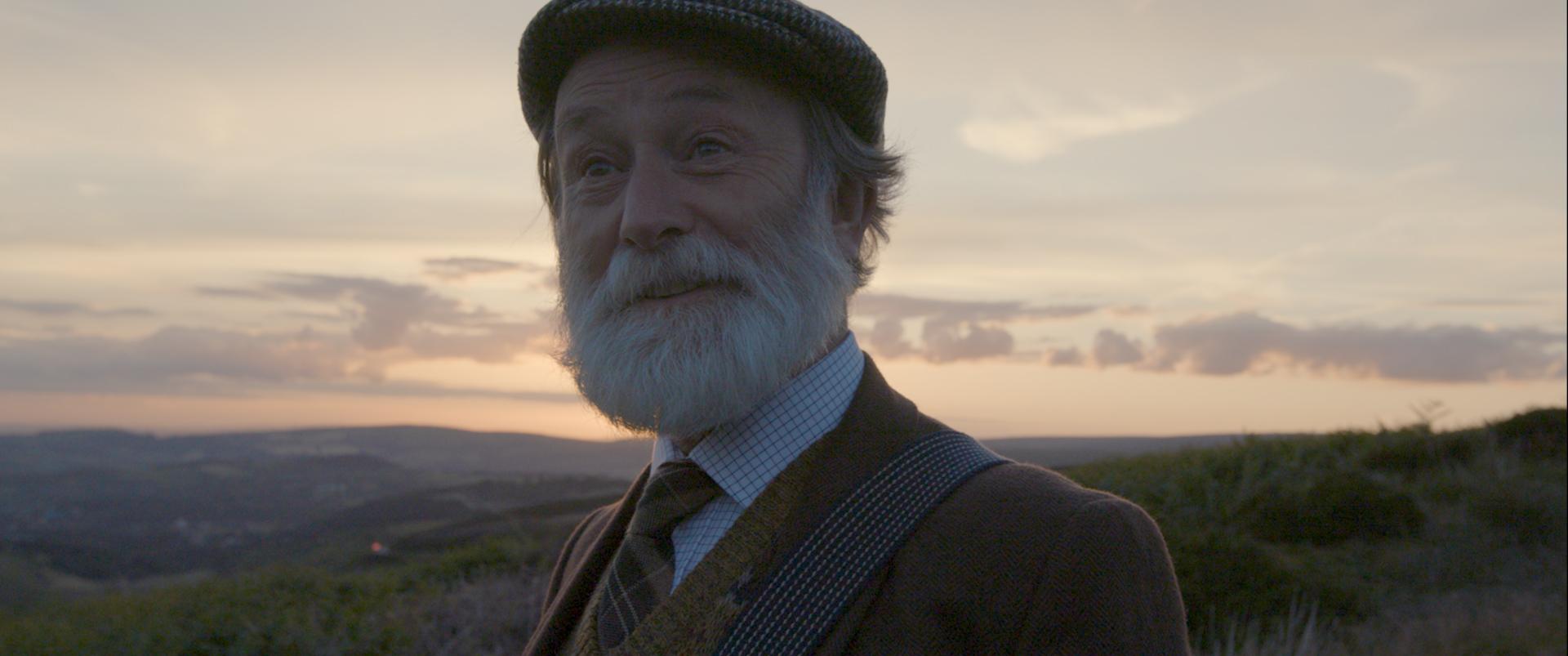 Melvyn Rawlinson as 'the carbon farmer'